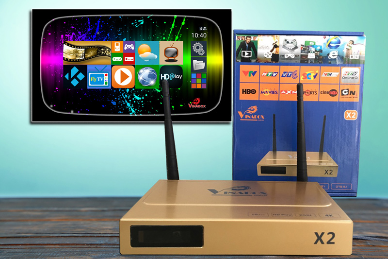 vinabox x2 android box việt nam